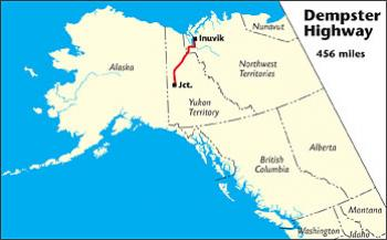 Dempster Highway, Far Northern Canada